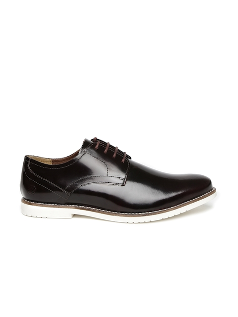 Cartlon London Men Black Leather Derbys