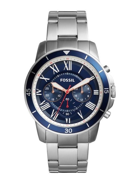Fossil FS5238 Chronograph Blue Dial Men's Watch