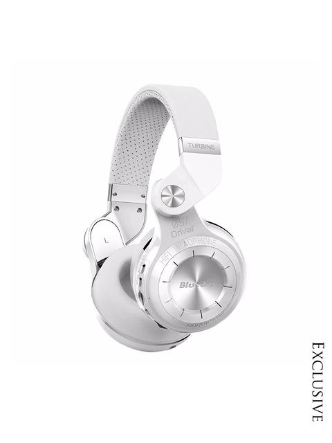 Bluedio Unisex White Over Ear Headphones
