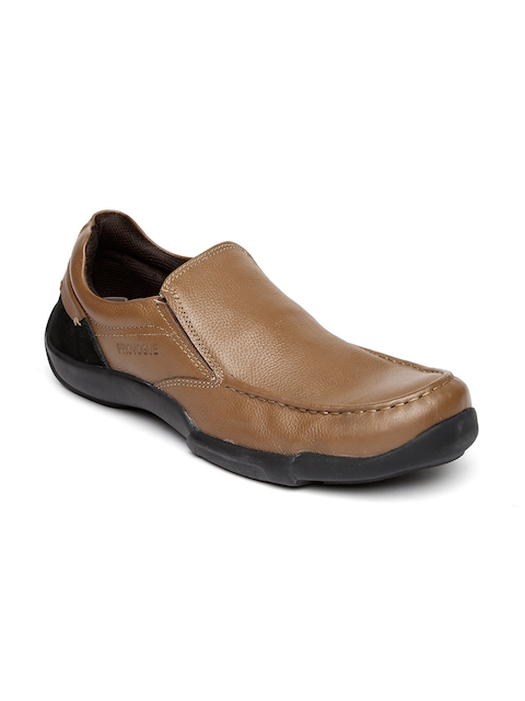 Provogue Men Brown Slip-Ons
