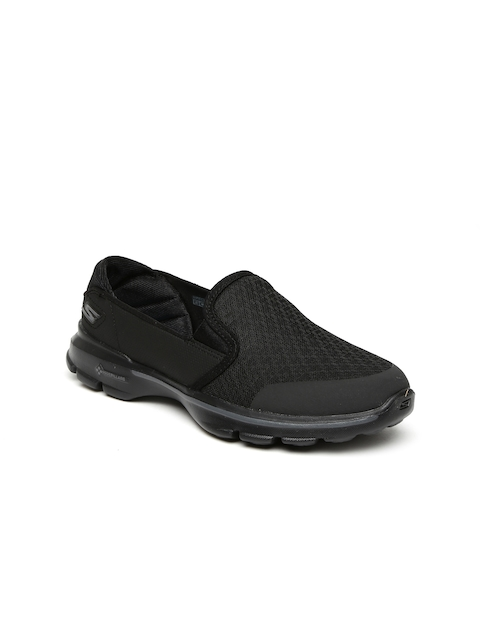 Skechers Women Black GO WALK 3 Walking Shoes