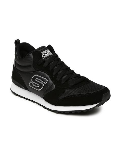 Skechers Men Black OG 85 Suede Sneakers