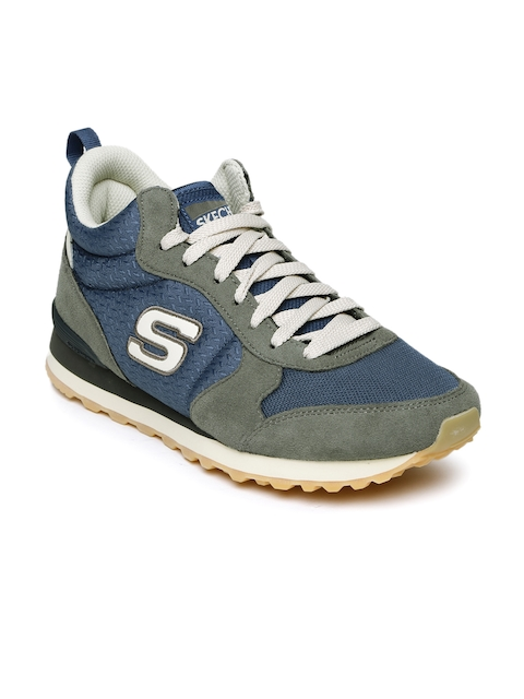 Skechers Men Blue & Grey OG 85 Running Shoes