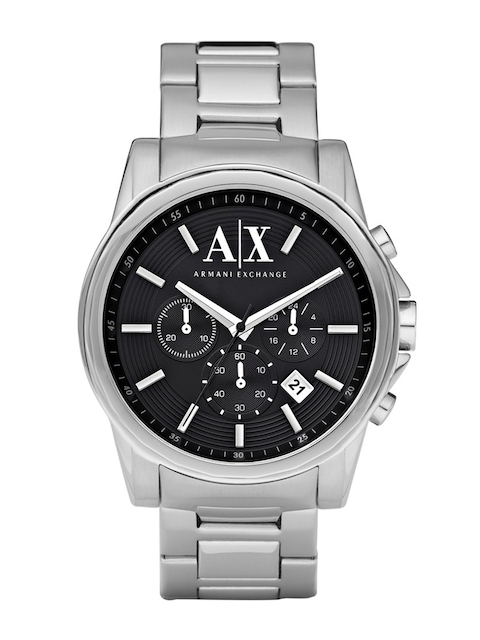 Armani Exchange Men Black Chronograph Analogue Watch AX2084I  available at myntra for Rs.12145