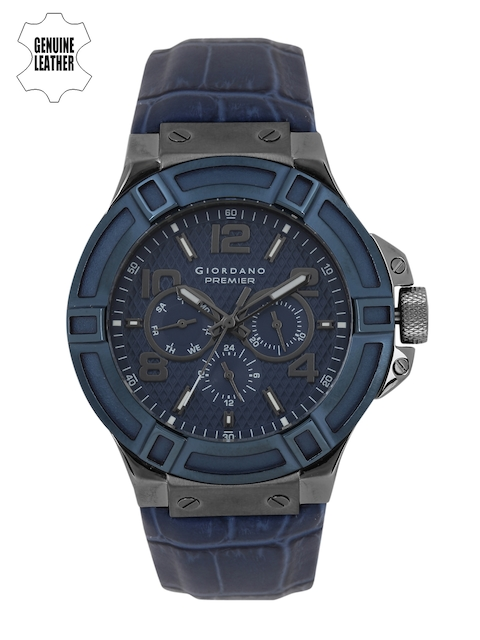 GIORDANO Men Navy Multifunction Analogue Watch P1059-03