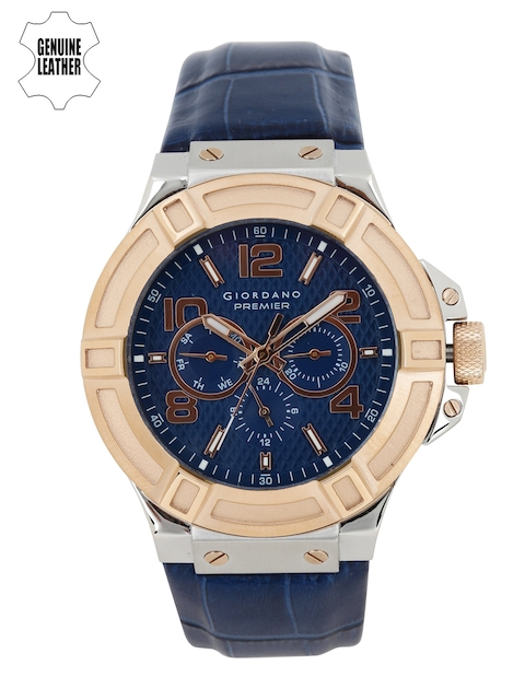 GIORDANO Men Navy Multifunction Analogue Watch P1059-06