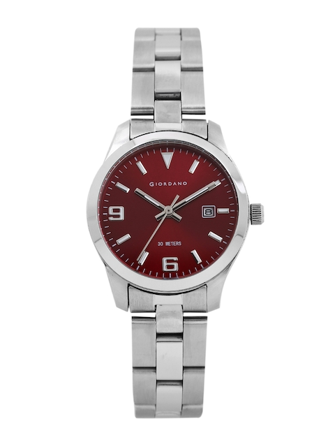 GIORDANO Women Red Analogue Watch P2061-44