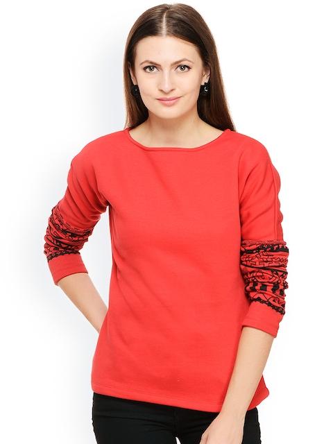 Rigo Red Sweatshirt