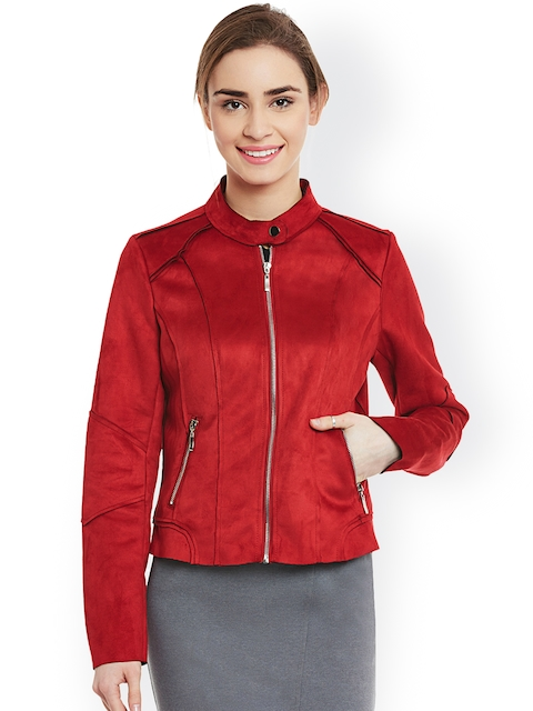 Latin Quarters Red Suede Jacket