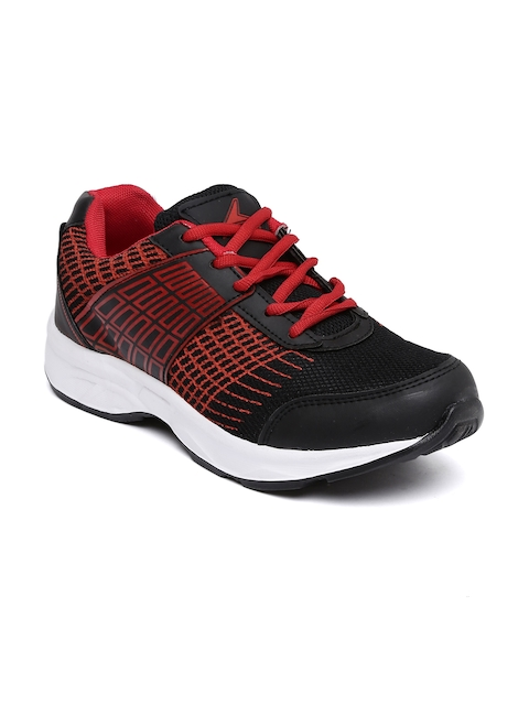 Power Men Black & Red  Allen Running Shoes