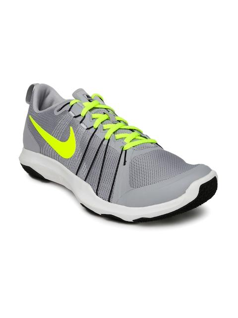Nike Men NIKE FLEX TRAIN AVER Grey Running Shoes
