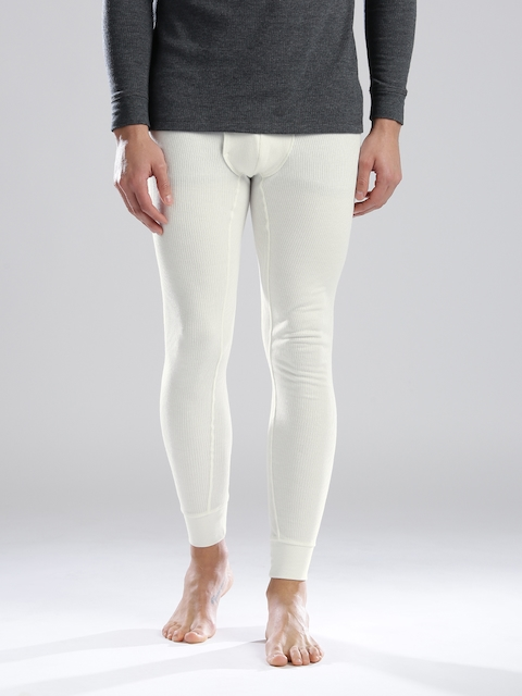Levis Off-White Long John Self-Striped Thermal Bottoms 300