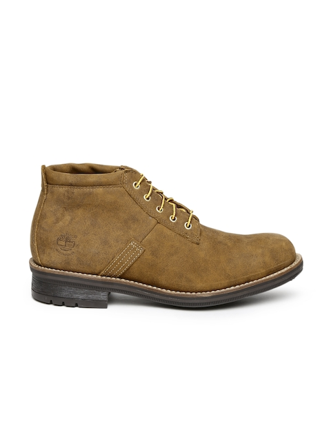Timberland Men Brown Boots