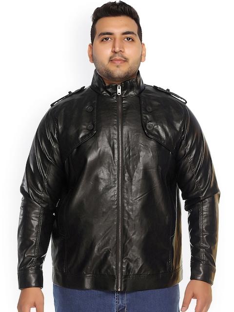 plusS Black Biker Jacket