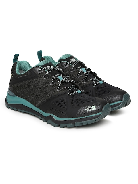 The North Face Women Black ULTRA FASTPACK II GTX Hiking Shoes