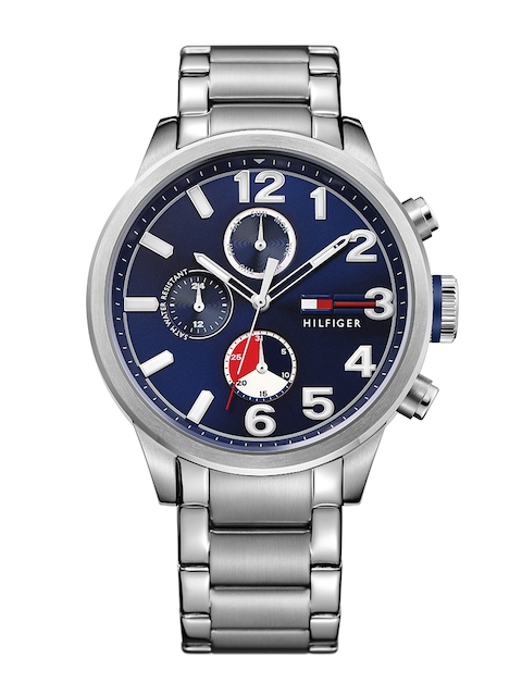 Tommy Hilfiger Men Navy Dial Chronograph Watch TH1791242J