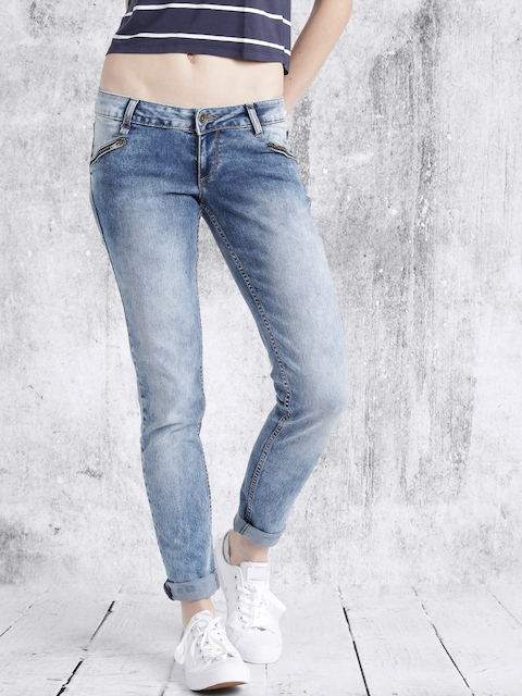 Roadster Women Blue Jegging Fit Stretchable Jeans