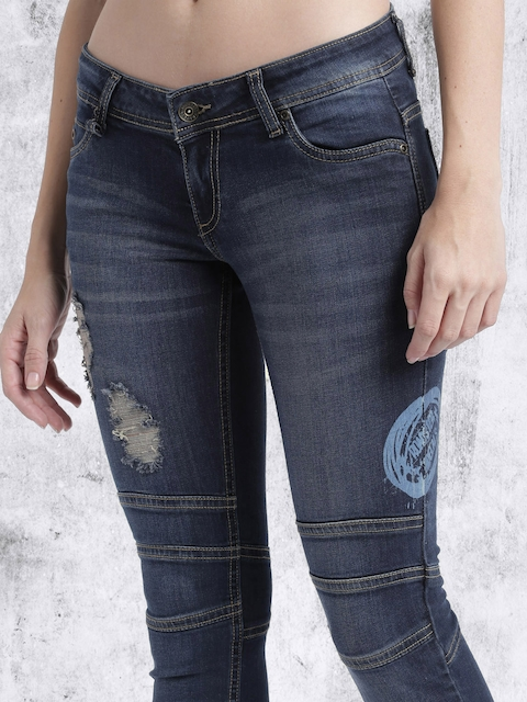 Roadster Blue Jeggings Fit Stretchable Jeans