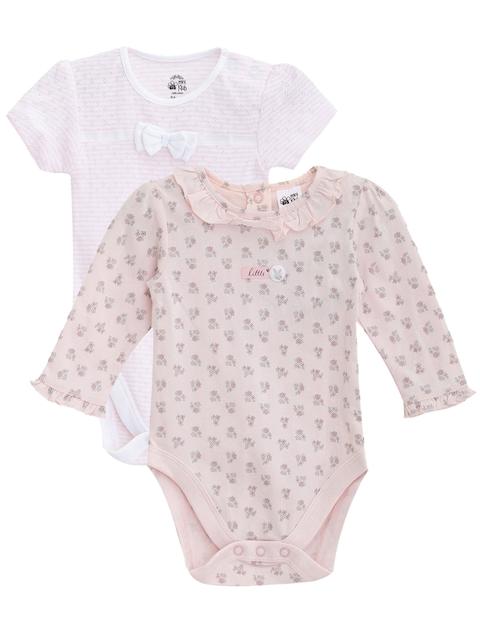 FS Mini Klub Infant Girls Pack of 2 Bodysuits