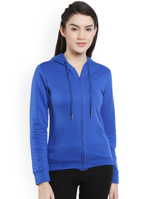 Style Quotient Blue Hooded Jacket