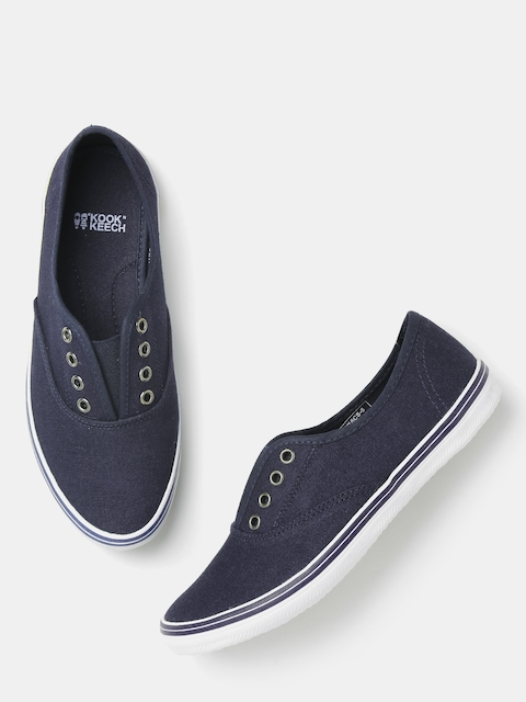 Kook N Keech Women Navy Casual Shoes