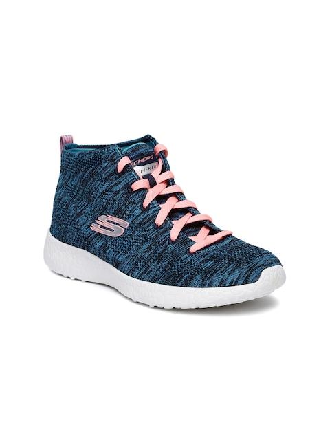 Skechers Women Blue Burst - Divergent Running Shoes