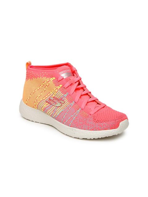 Skechers Women Orange Burst Running Shoes