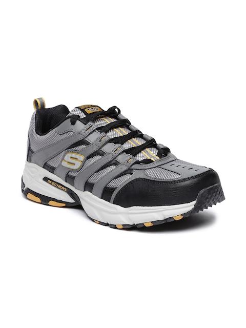 Skechers Men Grey Stamina Plus - Rappel Running Shoes