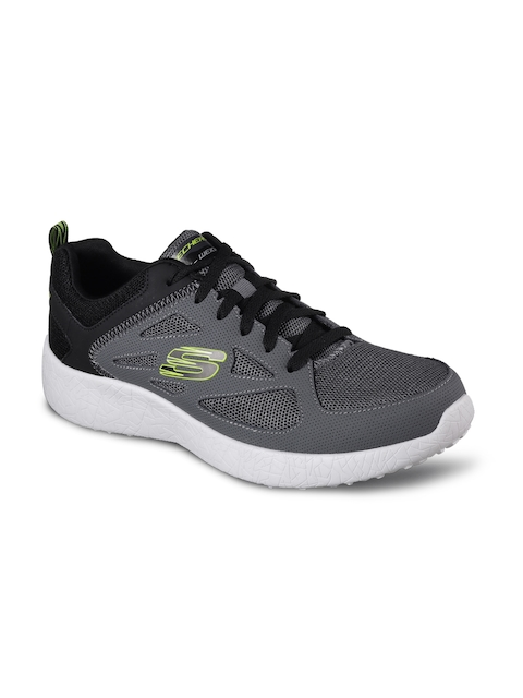 Skechers Men Grey Burst Running Shoes