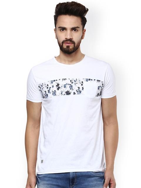 Mufti Men White Printed T-shirt