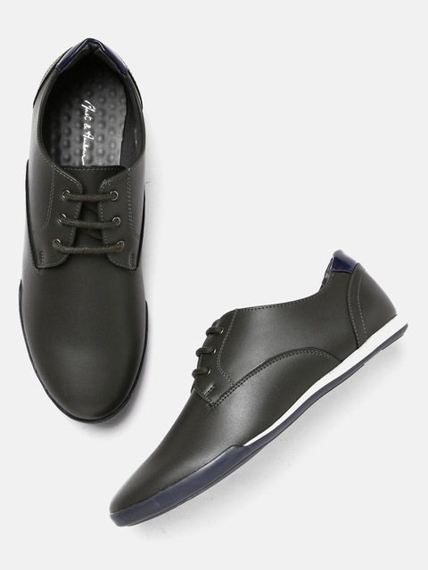 Mast & Harbour Men Grey Sneakers