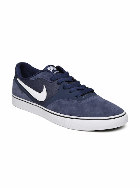 Nike Men Navy Paul Rodriguez Skate Shoes