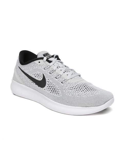 Nike Men Grey Free RN Running Shoes