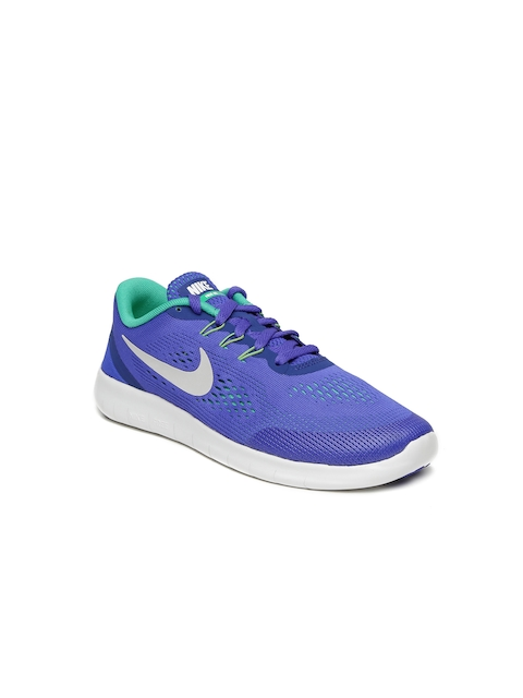 Nike Boys Blue Free RN Running Shoes  available at myntra for Rs.3506