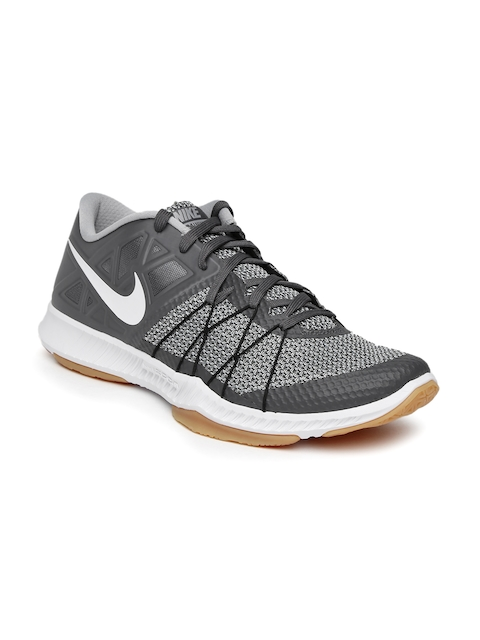 Nike Men Grey Zoom Train Incredibly Fast Training Shoes