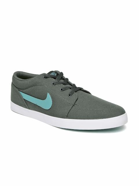 Nike Men Charcoal Grey Voleio Canvas Sneakers