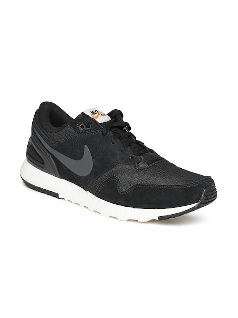 Nike Men Black Solid Air Vibenna Sneakers