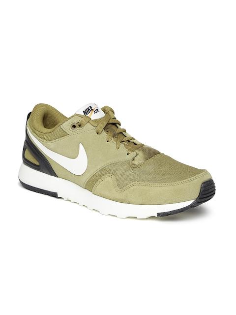 Nike Men Brown Solid Air Vibenna Sneakers