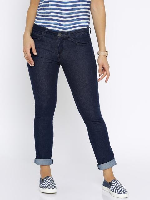 Wrangler Women Blue Slim Fit Stretchable Jeans