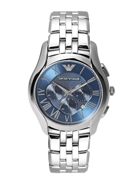 Emporio Armani Men Blue Chronograph Dial Watch AR1787