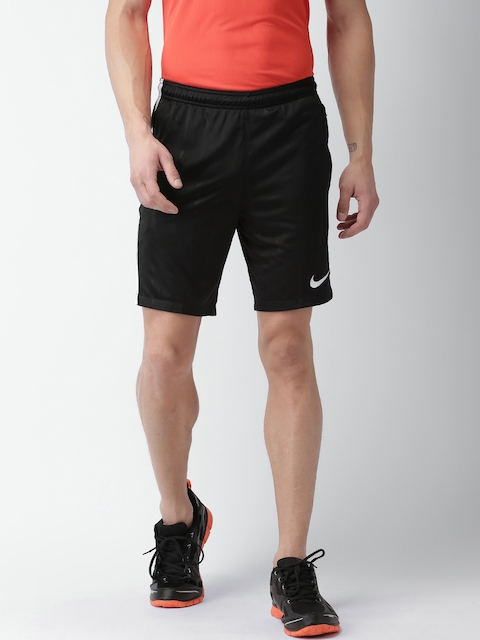 Nike Men Black AS M SHORT SQD JAQ KZ Regular Fit Sports Shorts
