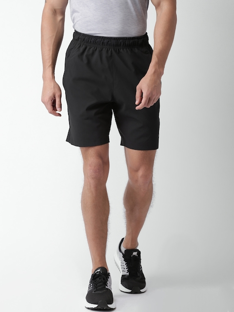 Nike Men Black AS FLX Solid Regular Fit Sports Shorts
