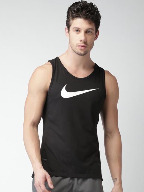 Nike Men Black AS BRTHE SL Elite T-shirt