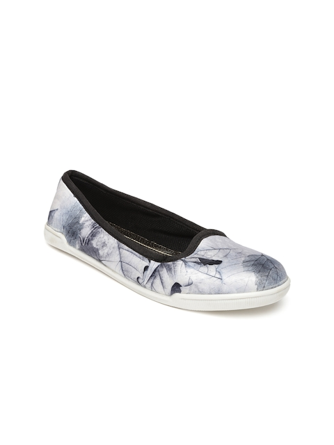 Inc 5 Women Blue Printed Flat Shoes