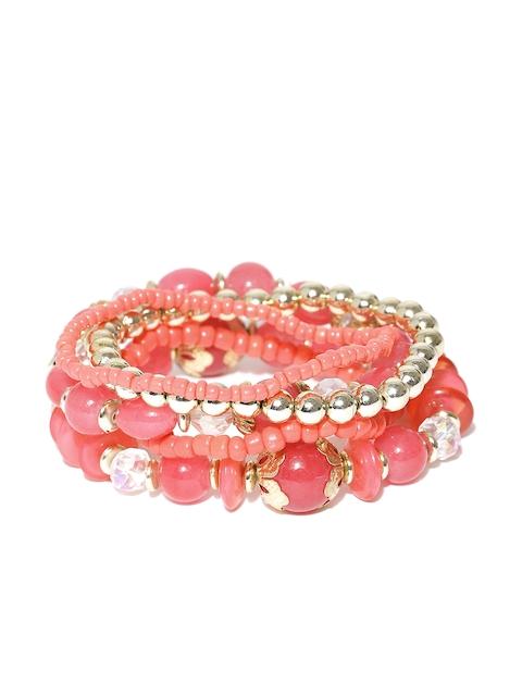 Shining Diva Set of 5 Beaded Bracelets