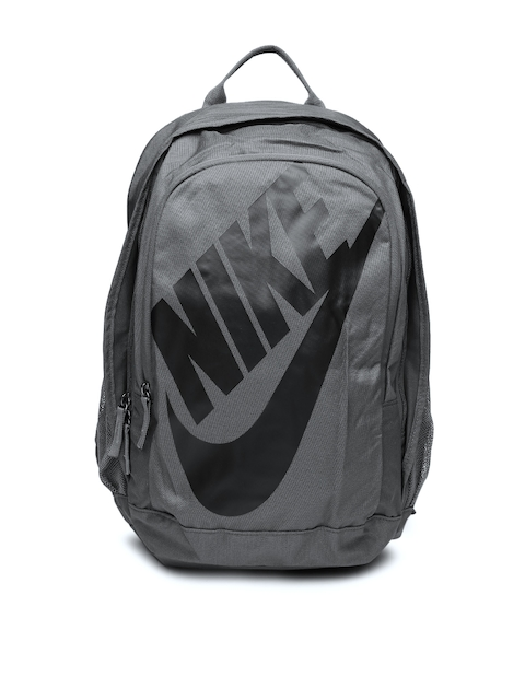 Nike Unisex Charcoal Grey Hayward Futura 2.0 Printed Backpack