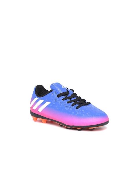 Adidas Messi Boys Blue 16.4 FXG J Football Shoes