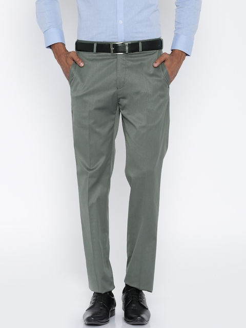 Raymond Grey Contemporary Fit Formal Trousers
