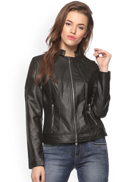 Xblues Black Biker Jacket
