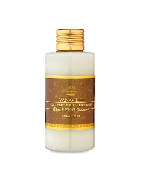 VANA VIDHI Unisex Brown Thai Spa Coconut Natural Face Wash
